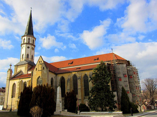 St James church in Levoca